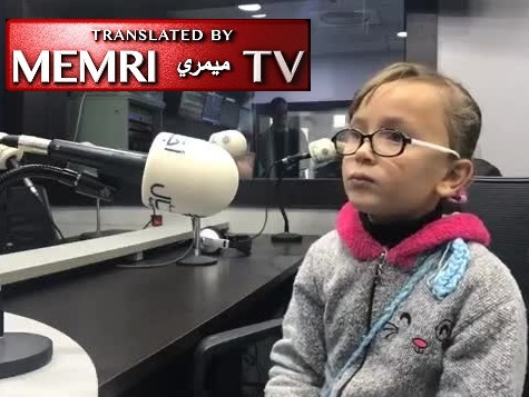 7-Year-Old Palestinian Girl Rouaa Al-Tamimi Recites Poem about Martyrdom on Radio, Then Addresses